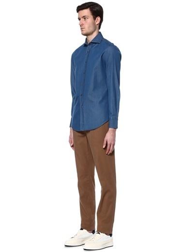Uzun Kollu Gömlek-Brunello Cucinelli